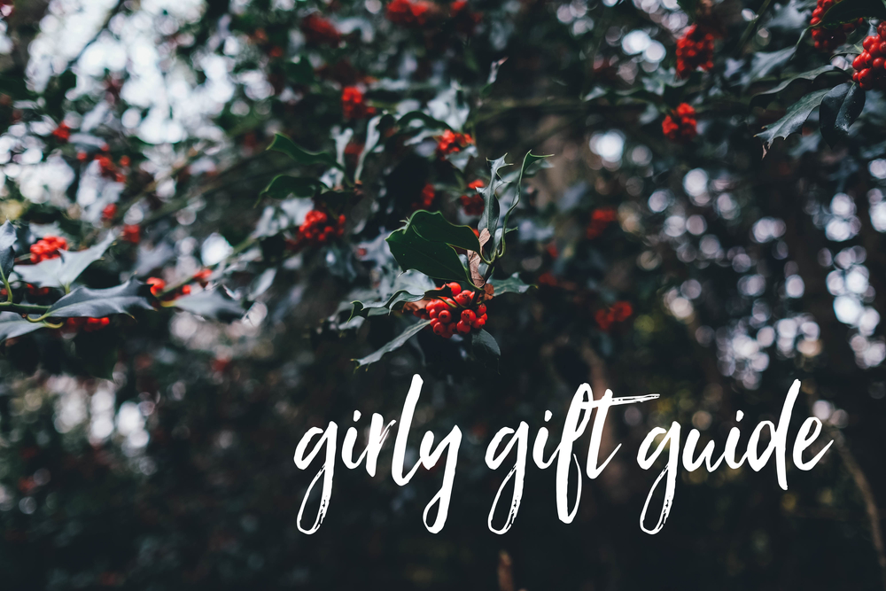 robineylea girly gift guide