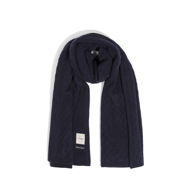 The Esmond Cashmere Blanket Scarf in Rose Breath — LOU DUNGATE - Lou Dungate  Official Site 46d9914c0d28