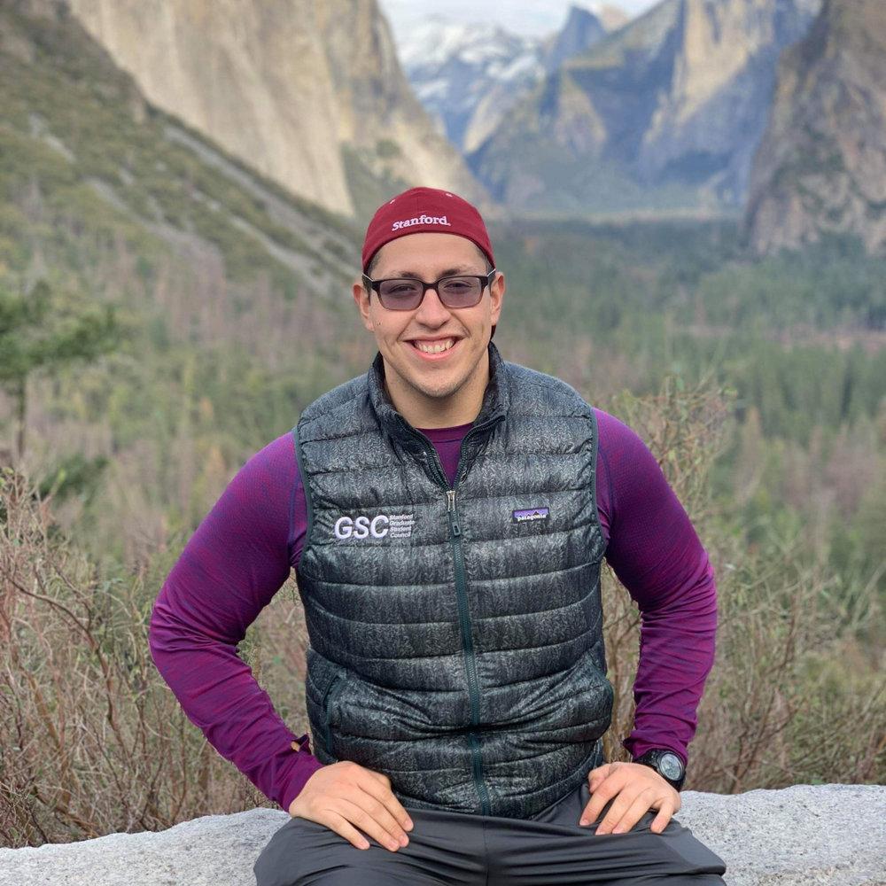 Oscar Guerrero, Athletics Chair    EE MS '18