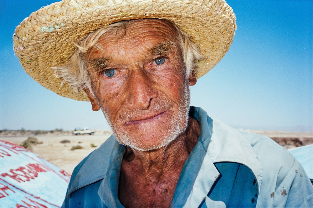 leonard knight, SALVATION MOUNTAIN, california