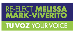 Melissa Mark-Viverito NYC City Council campaign logo