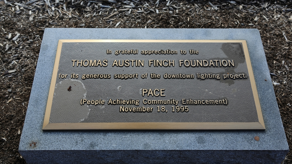T.A. Finch Foundation honorarium