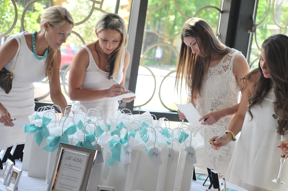 Tiffany Blue Baby Shower at Mamma Melina Ristorante