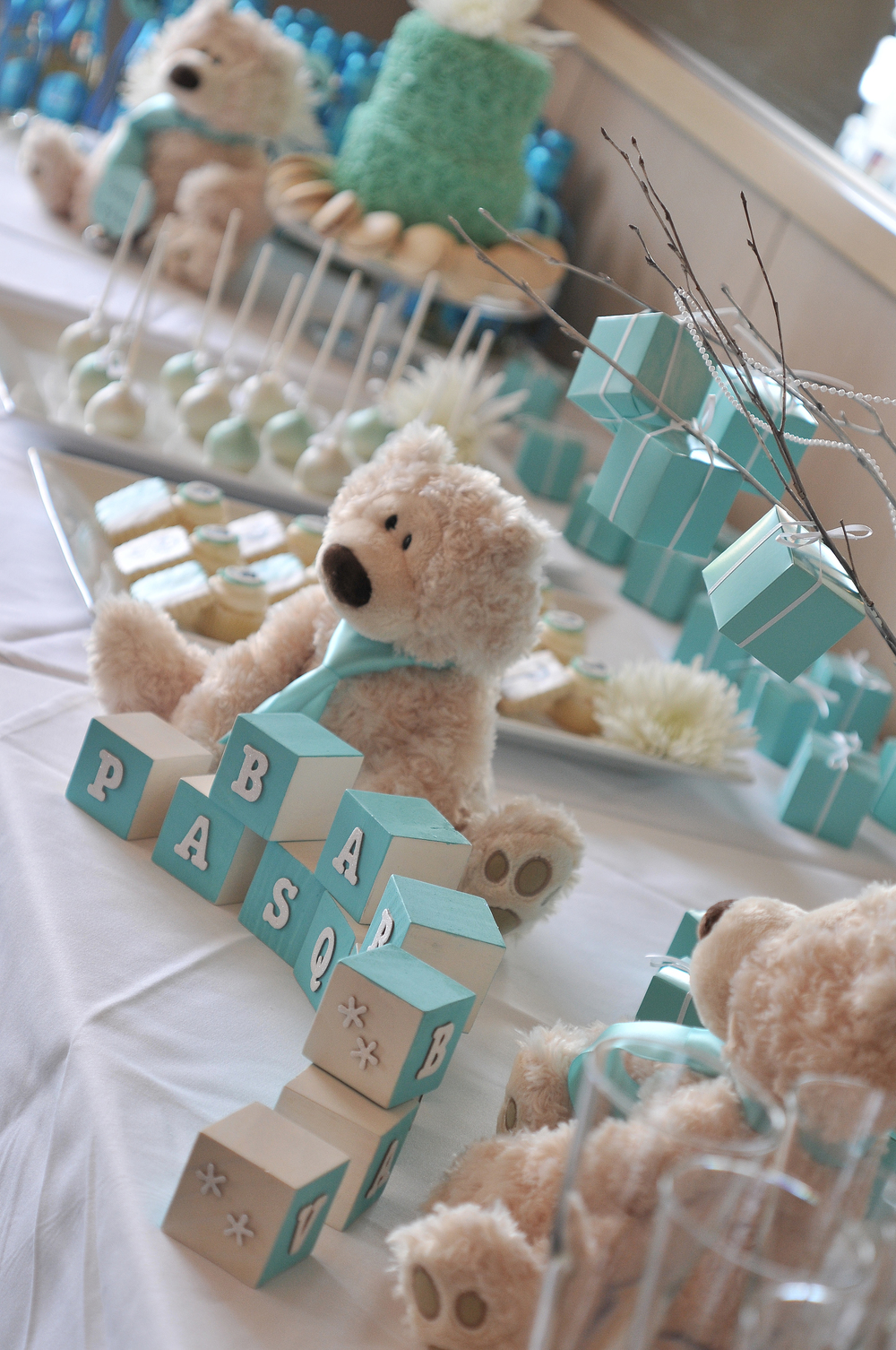 Tiffany Blue Baby Shower from Totes and the City
