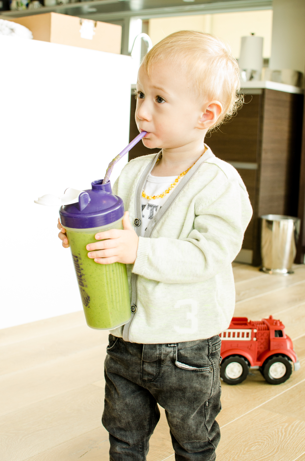 Totes and the City Green Juice