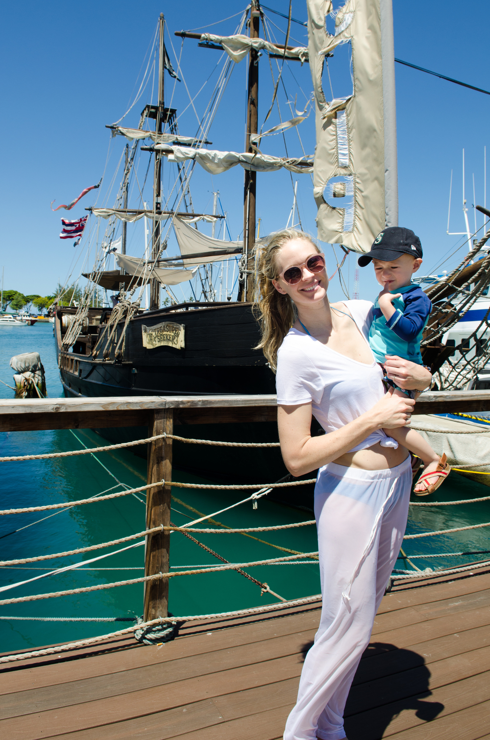 Pirate Ship Adventures // A Royal Hawaiian Vacation // {by Totes and the City}