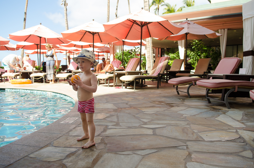 The Pool // A Royal Hawaiian Vacation // {by Totes and the City}