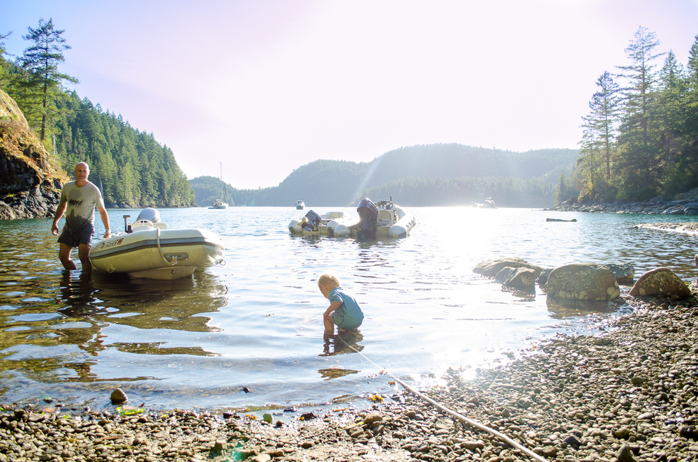 Desolation Sound, Lake Unwin // {by Totes and the City}
