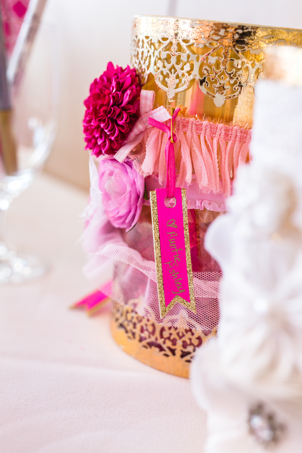 Gold and Pink baby sprinkling // by {Totes and the City}