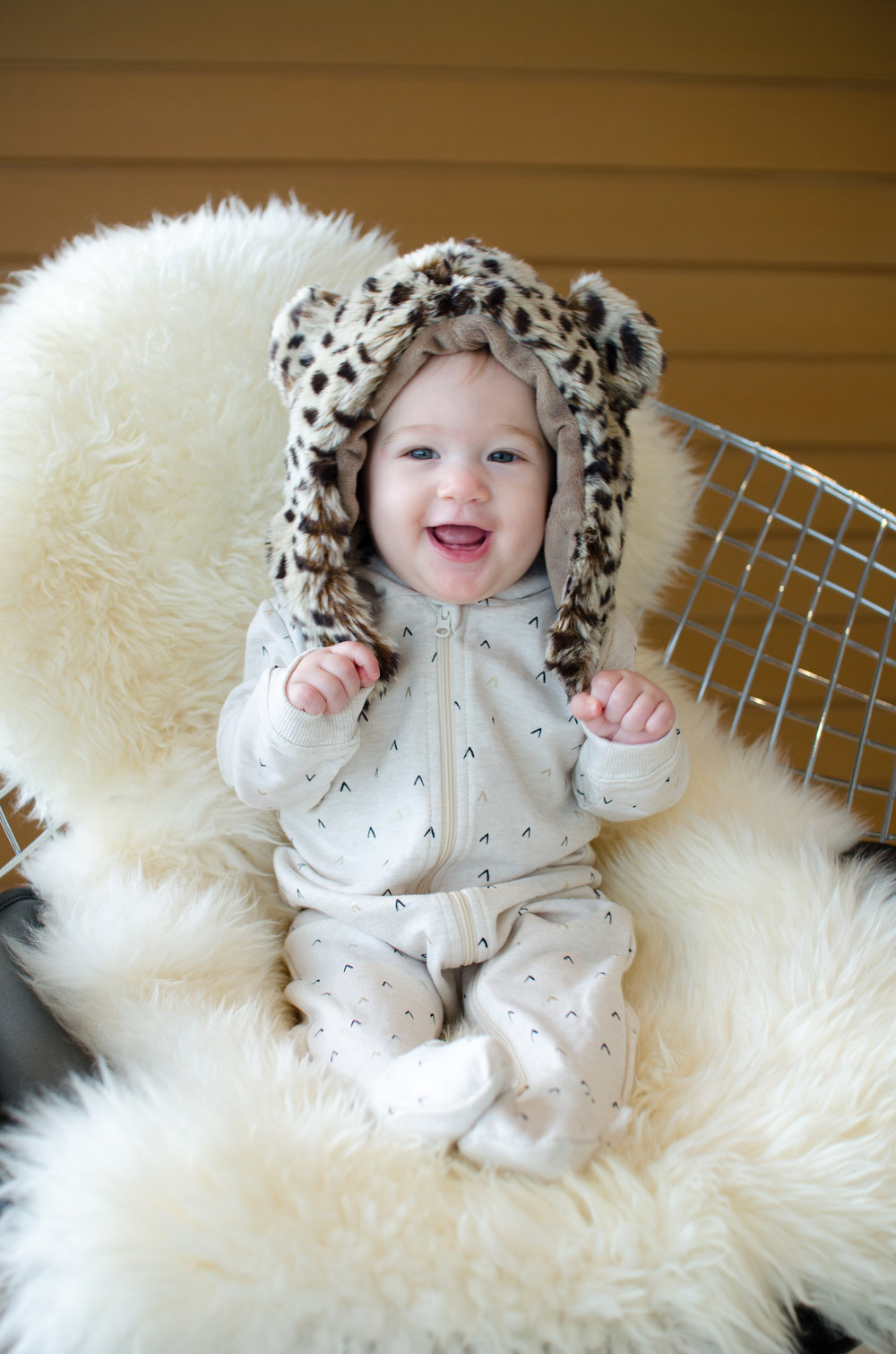 Eskimo Kids Cheetah Hat // By Totes and the City