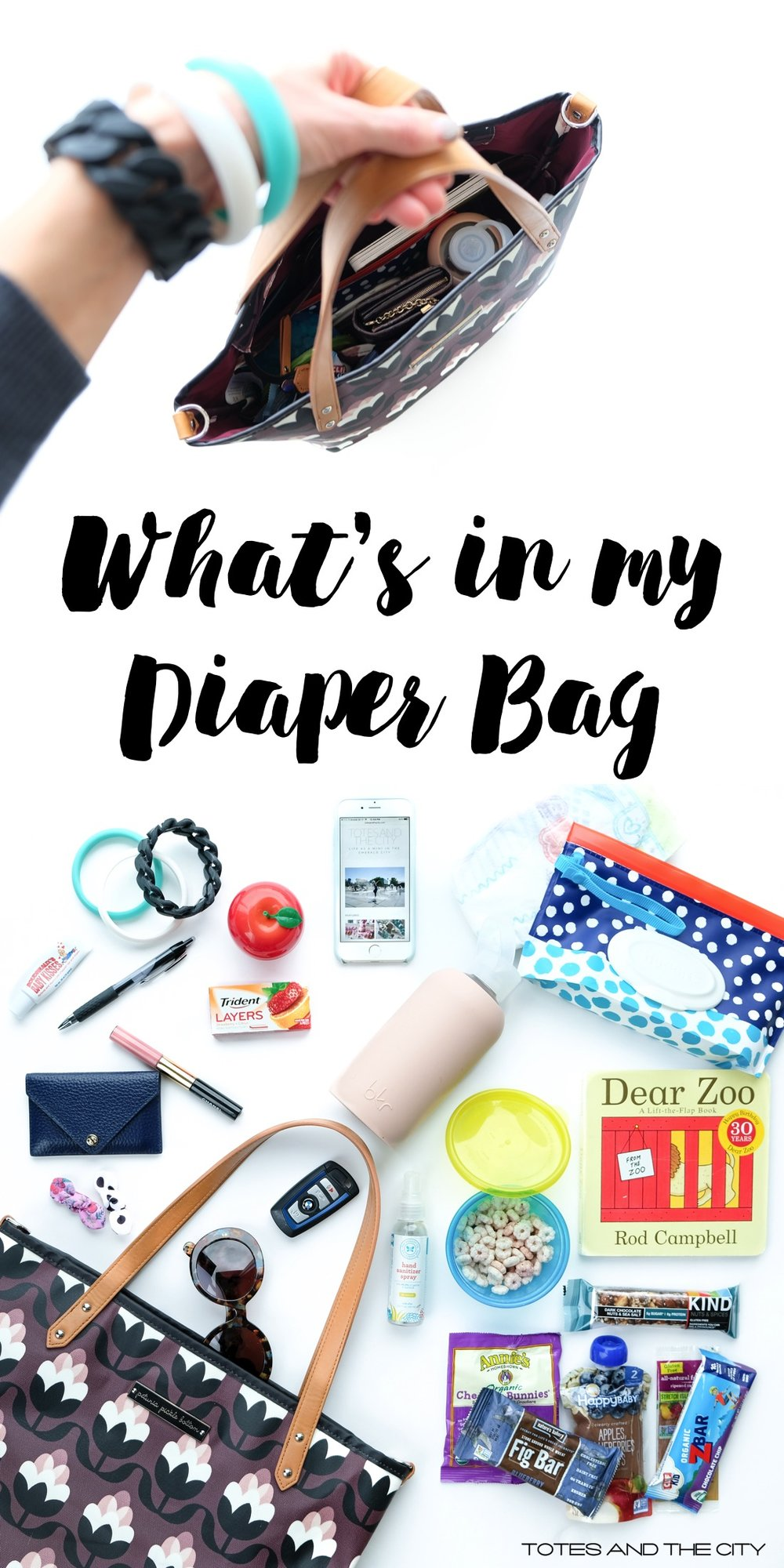 What's in my Diaper Bag | Blog Post by Totes and the City