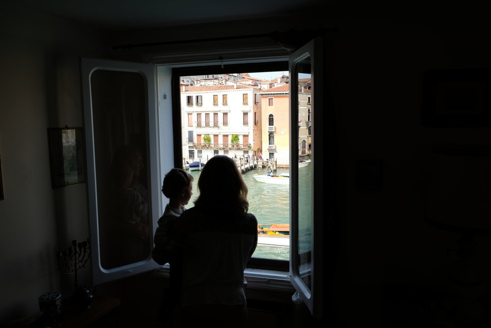 Looking out at the Grand Canal in Venice, Italy | Venice with Kids | blog post by Totes and the City