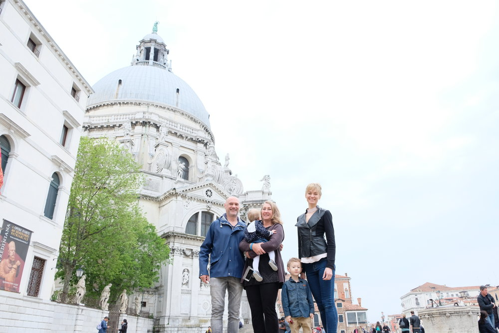 Basilica di Santa Maria della Salute in Venice, Italy | Venice with Kids | blog post by Totes and the City
