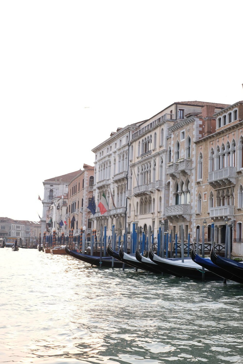 Vies from our private water taxi in Venice, Italy on the Grand Canale | Venice with Kids | Blog post by Totes and the City