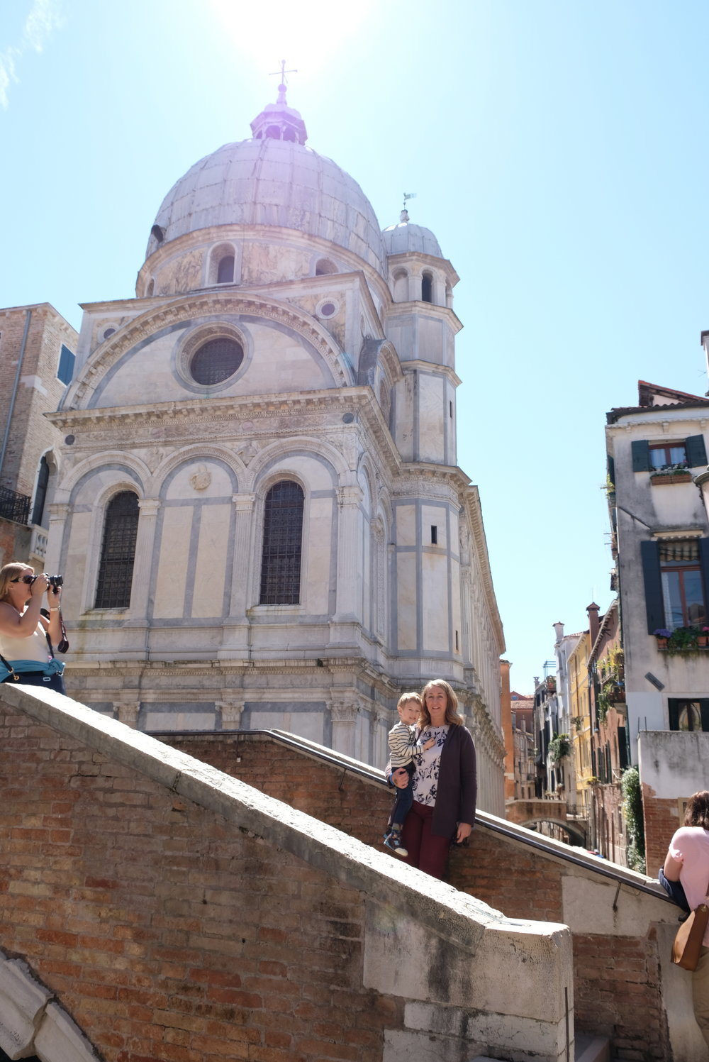 Street Scene in Venice, Italy | Venice with Kids | Blog post by Totes and the City
