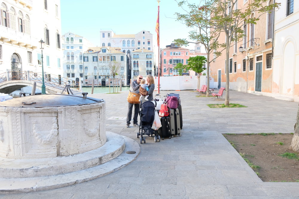 Campo San Vio in the Dosoduro District of Venice, Italy | Venice with Kids | Blog Post by Totes and the City