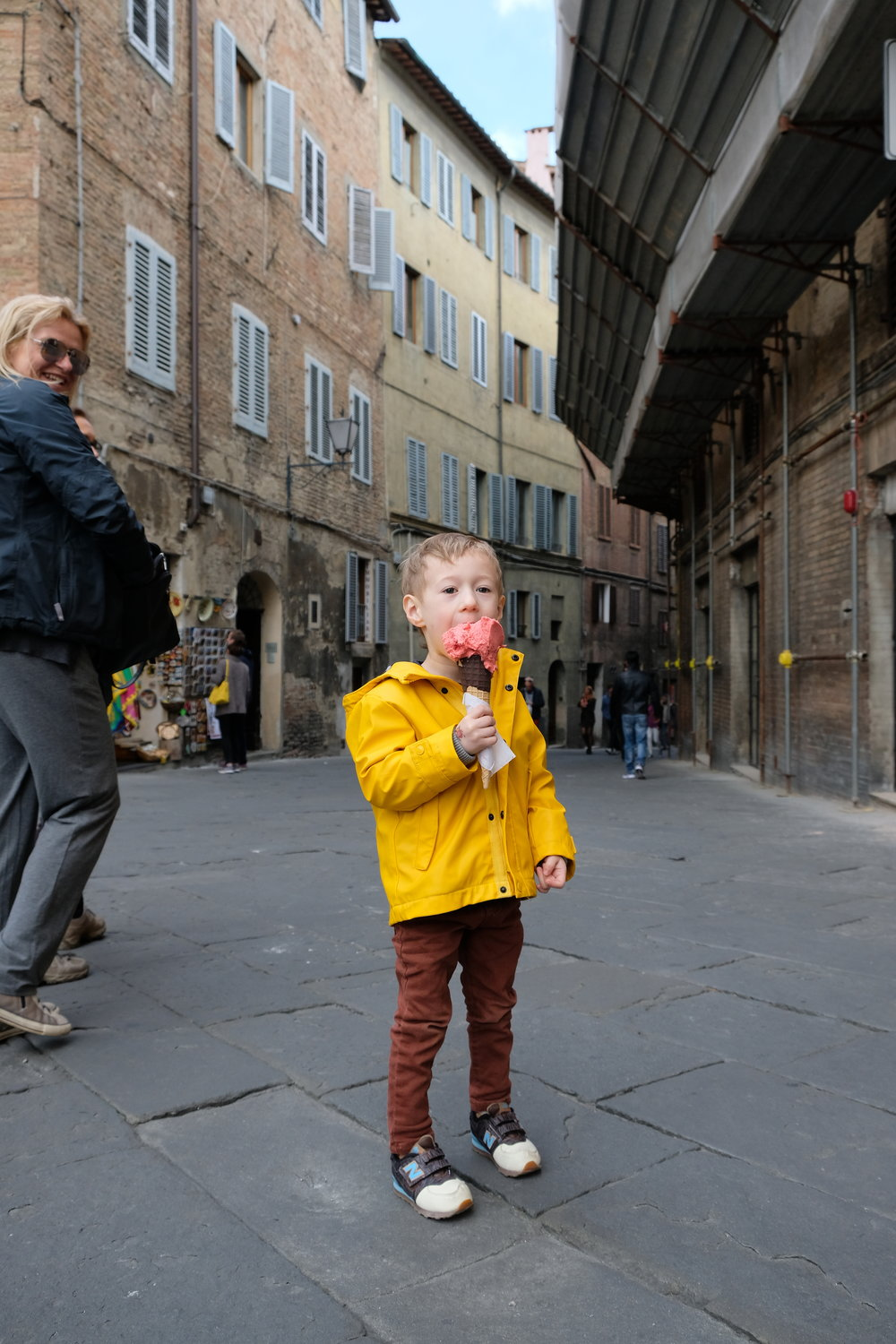 Gelato in Siena | Italy with Kids | Blog Post by Totes and the City - click for more photos and to read our experience!