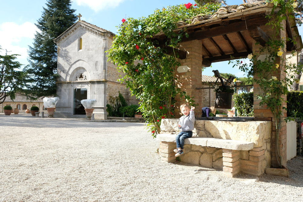Borgo San Felice, Tuscany, Italy | Italy with Kids | by Totes and the City | Blog Post