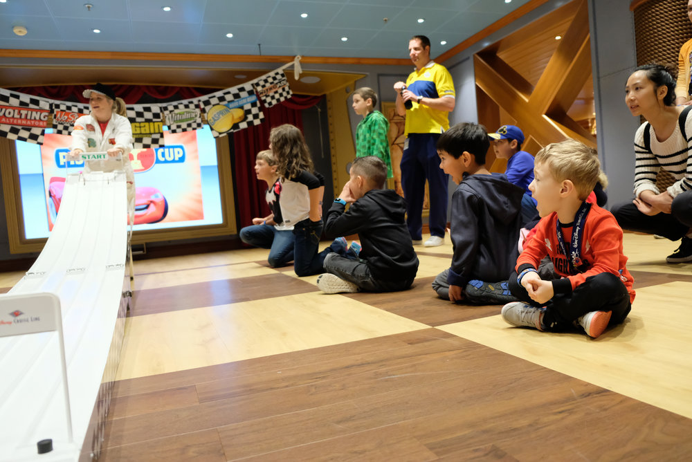Piston Cup Challenge Oceaneer's Lab onboard the Disney Wonder | Our Disney Cruise to Alaska | A Disney Cruise Guide by Totes and the City