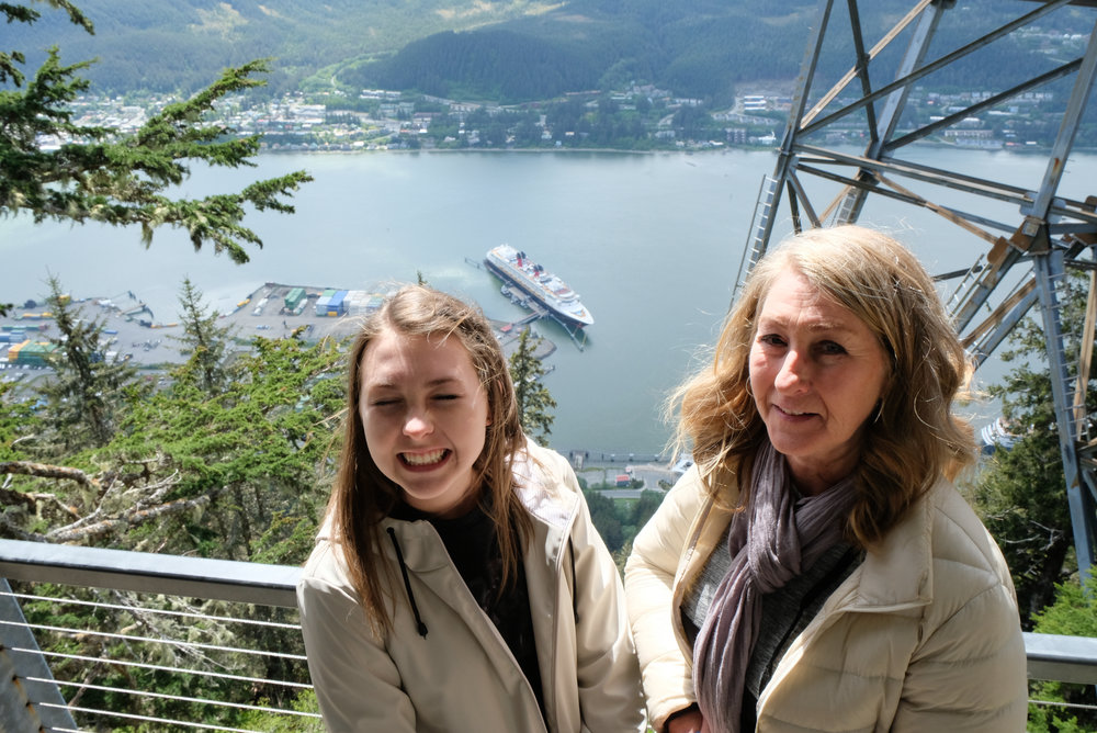 View from the top of Mount Roberts Tramway in Juneau, Alaska | Our Disney Cruise to Alaska | Disney Cruise Guide by Totes and the City