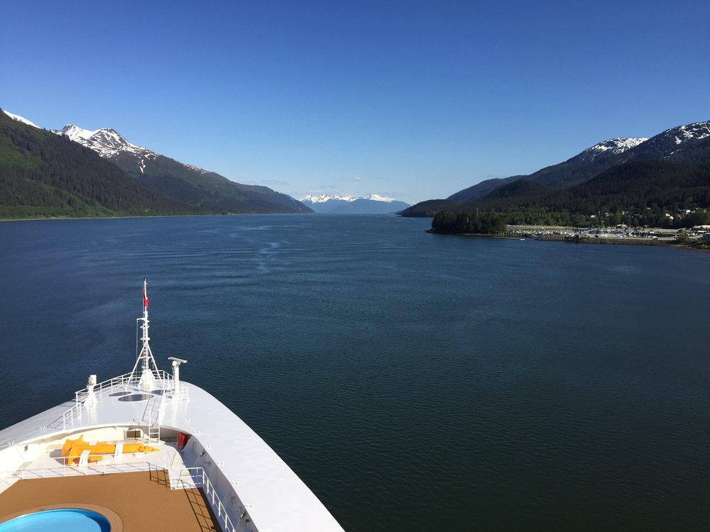 Leaving Juneau, Alaska | Disney Wonder | Our Disney Cruise to Alaska | Guide and blog post by Totes and the City