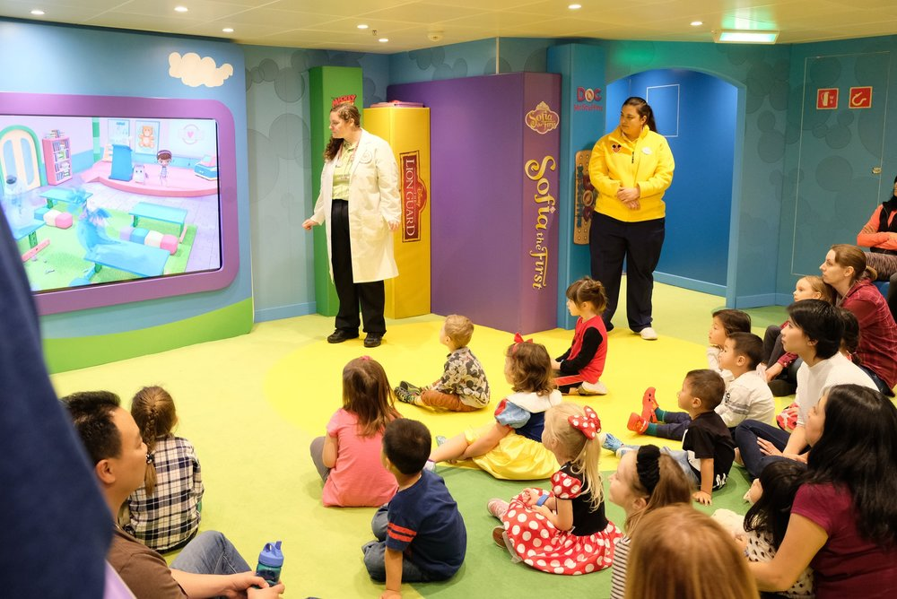 Oceaneer's Club with Doc McStuffins | Disney Wonder | Our Disney Cruise to Alaska | Guide and blog post by Totes and the City