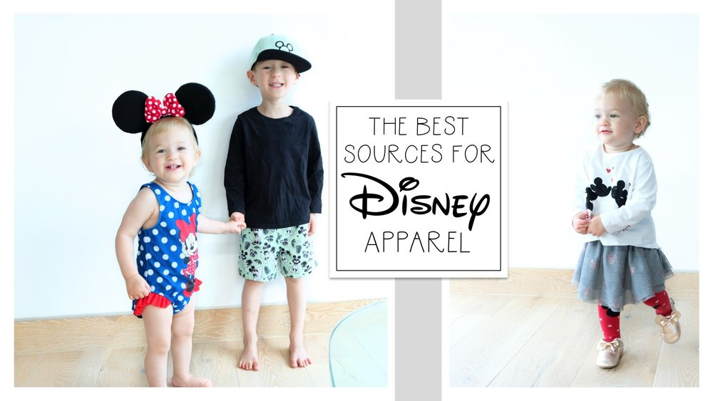 The Best Sources for Disney Apparel | Blog Post by Totes and the City