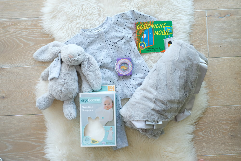 Gift Idea Theme: Newborn Baby Nighttime Bundle