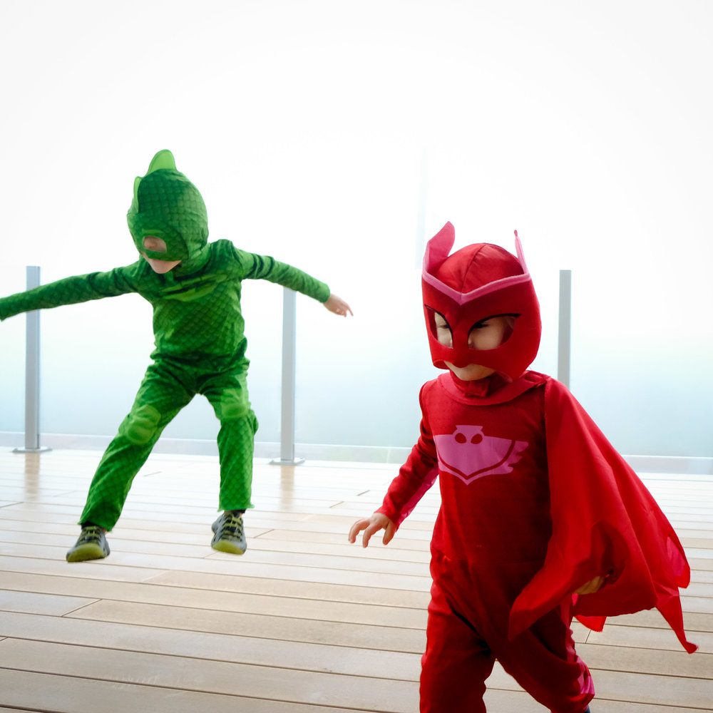 halloween: pj masks family costumes — totes and the city