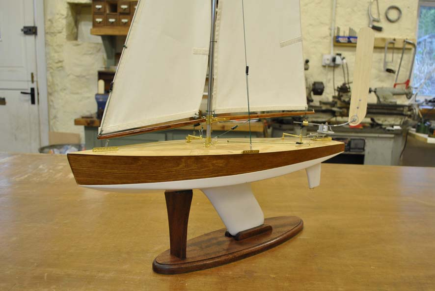 MM 2 fitted with vane steering, white under waterline. 1,600GBP.  Out Of Stock   but can be made to order