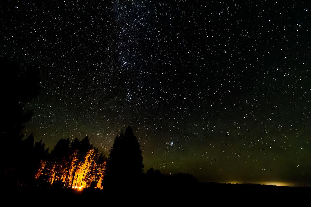 Stars Around the Campfire