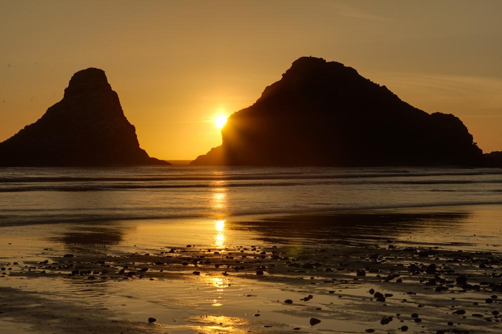 Haceta Head Sunset