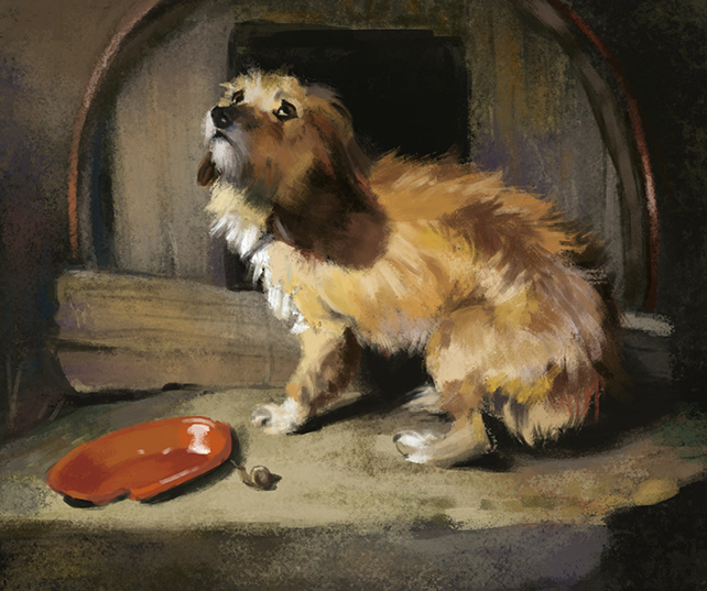 Study after Edwin Landseer