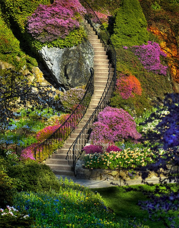 Where in Canada is this stunning garden?