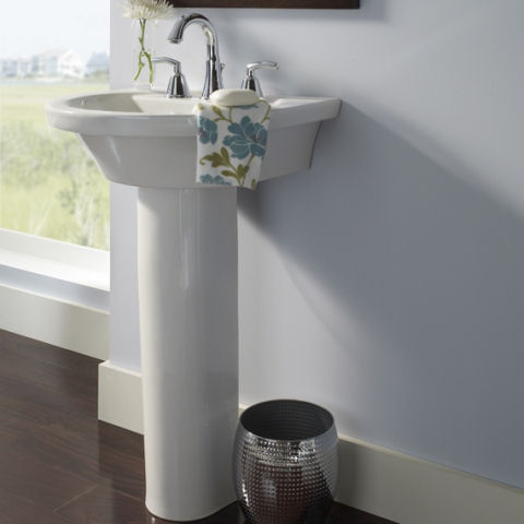 Pedestal Sinks Section Plumbing Schedule