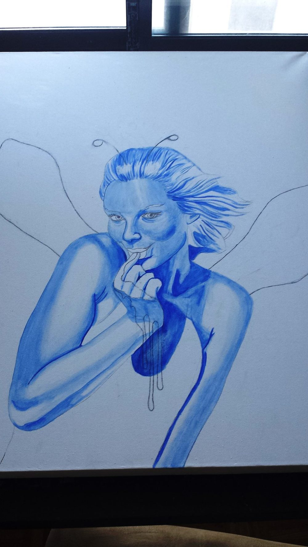 WIP#2 the ever important blue undercoat