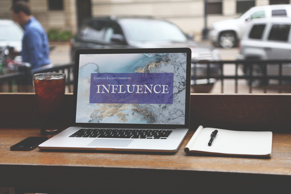 INFLUENCE not only radically changes your life for the better, it also looks good in coffee shops.