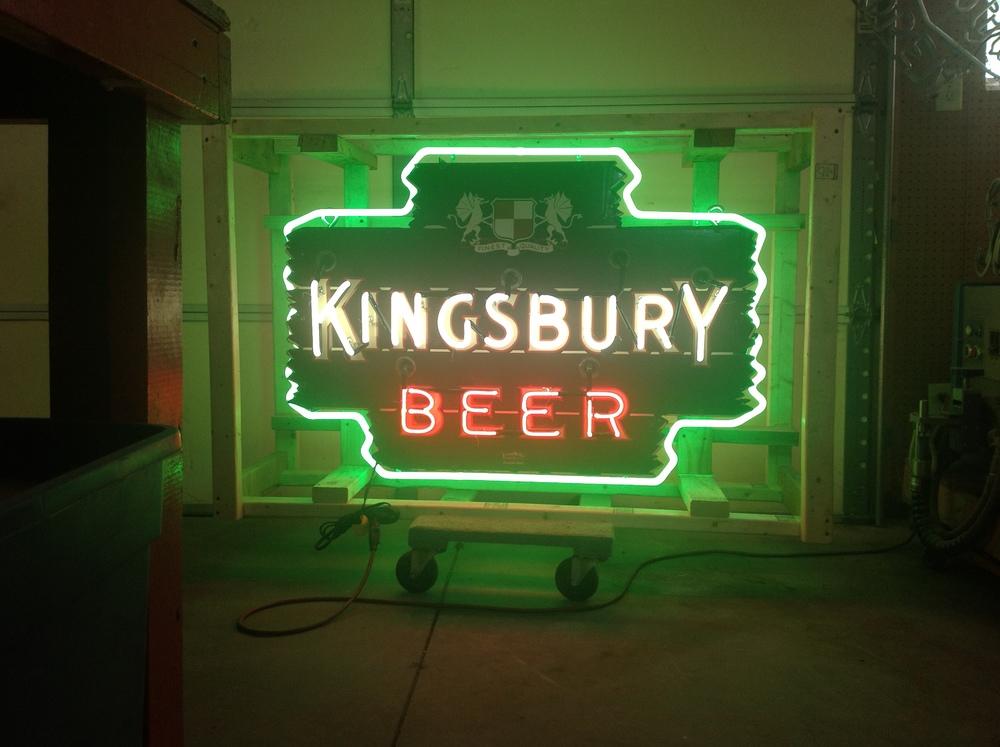 Kingsbury Beer - Neon & Porcelain