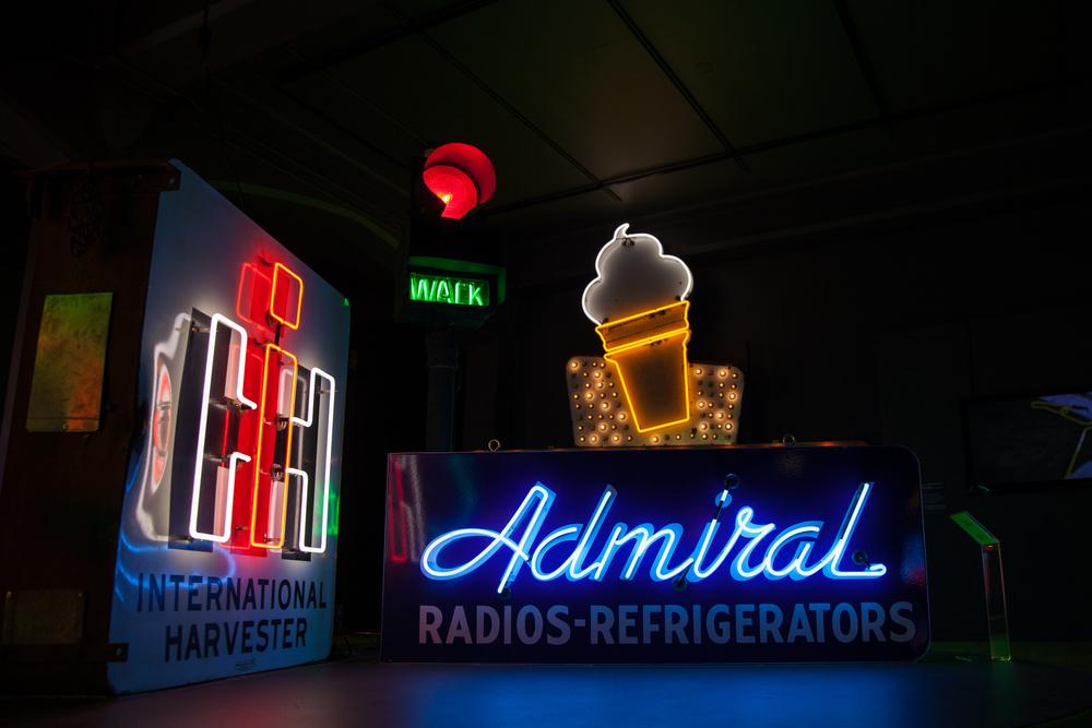 Admiral & Harvester International - Neon & Porcelain
