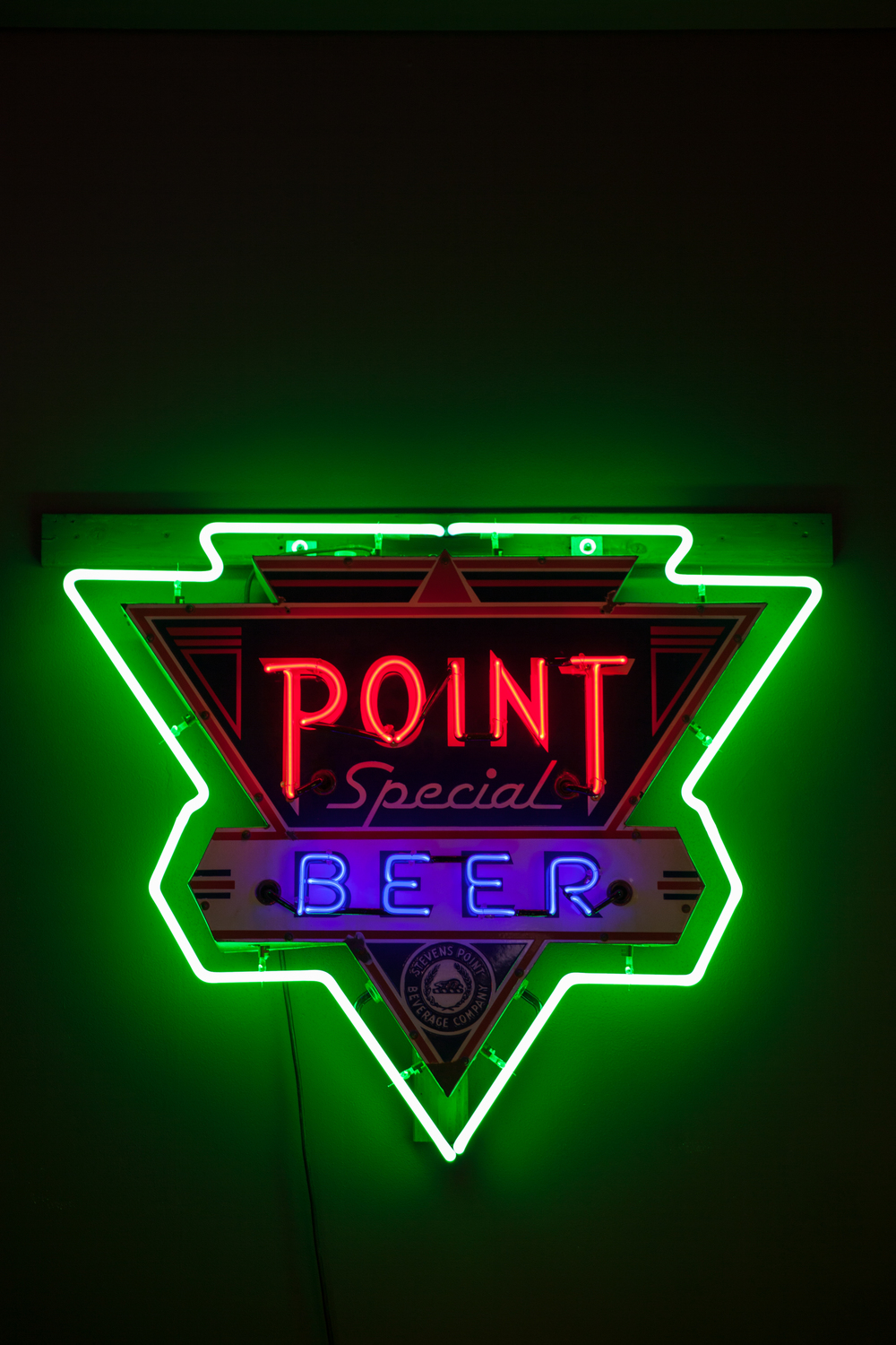 Point Special Beer - Neon & Porcelain