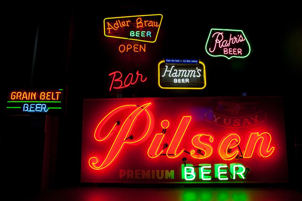 Beer Signs!
