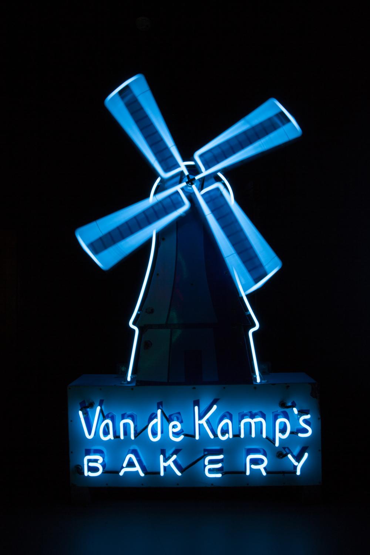 Van de Kamps Bakery Neon Sign.