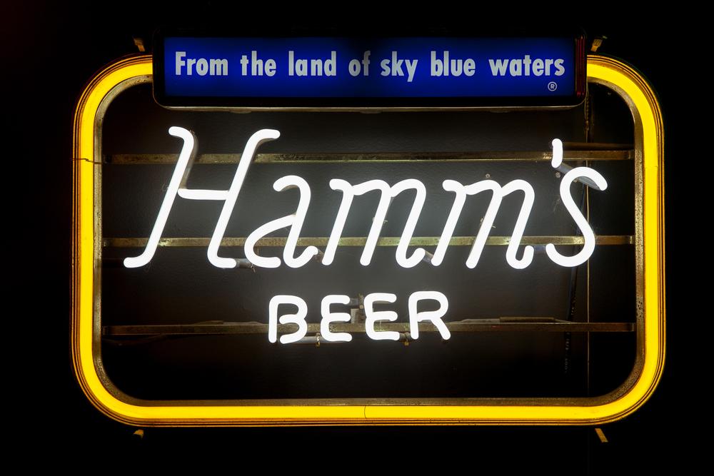 Hamm's Beer Neon Sign.