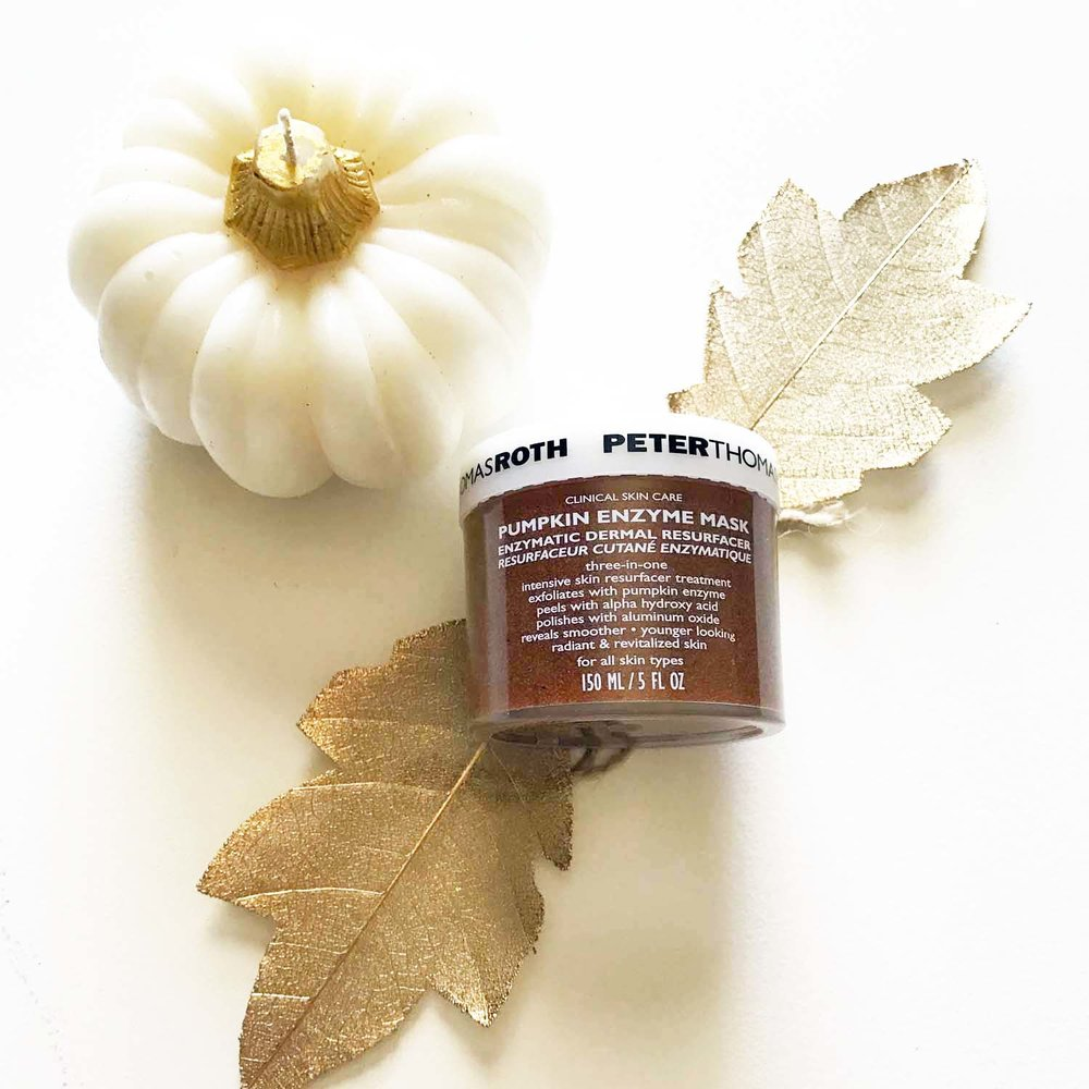 Peter Thomas Roth Pumpkin Enzyme Mask | Robyn Wise dallas blogger | robynwise.com