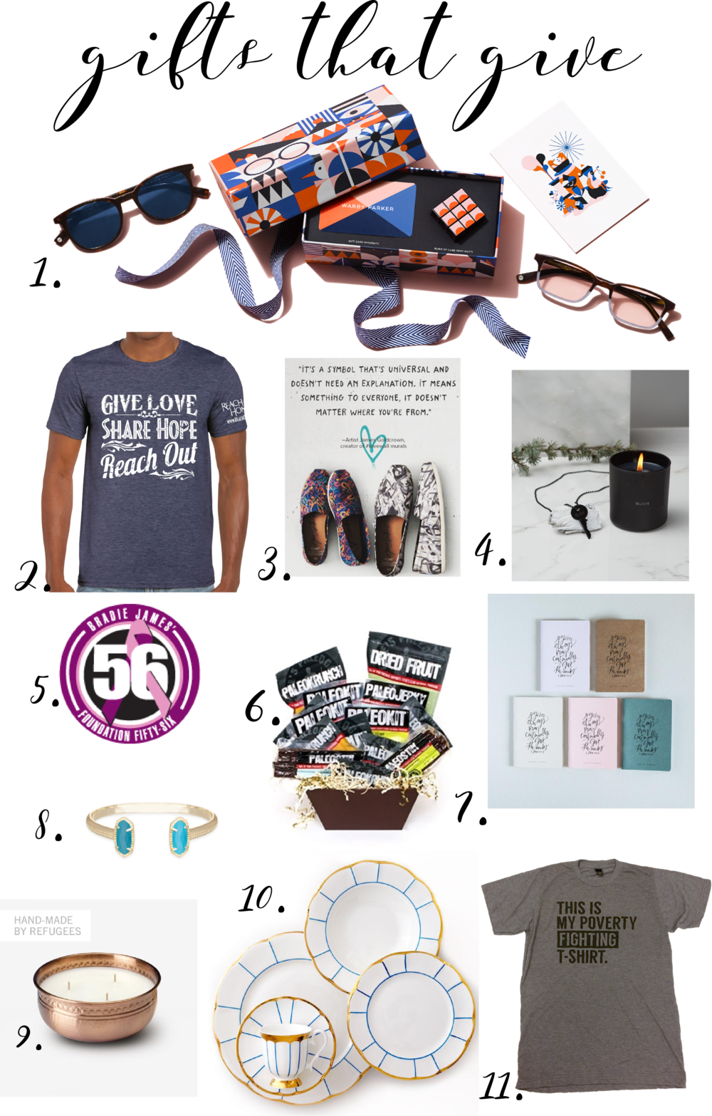 Robyn Wise | Dallas Blogger | Giving Tuesday Gift Guide 2016 | www.robynwise.com