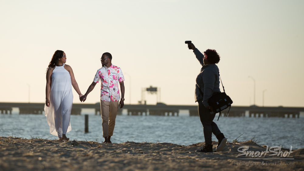 Left to Right:Candice, Shevin and my gorgeous wife, Ronny. Images where photographed in the Oceanview area of Norfolk, VA.