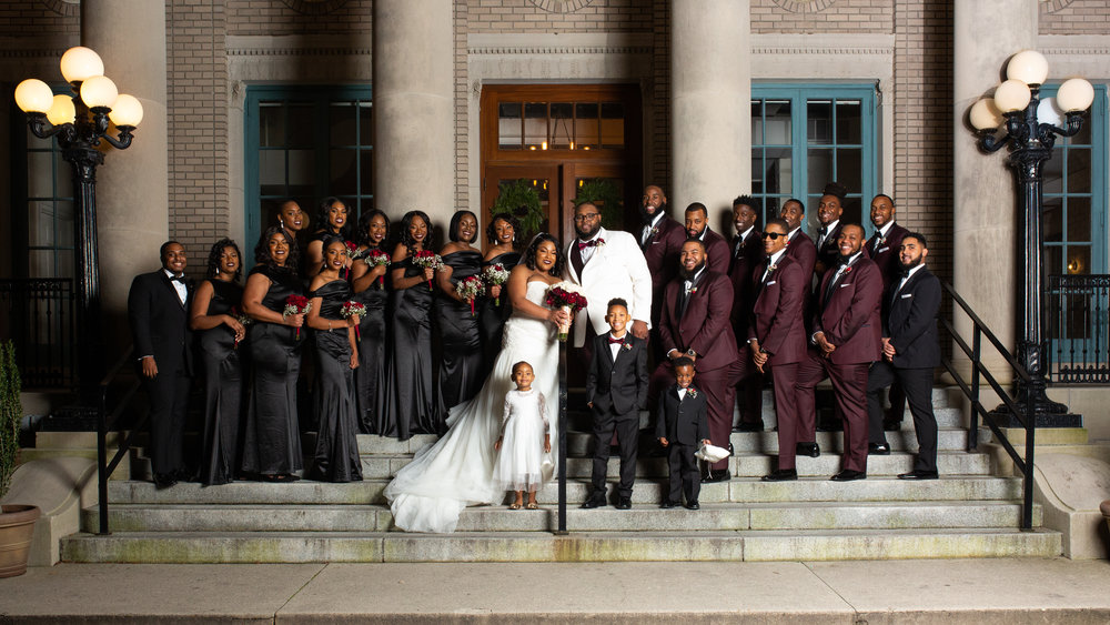 Historic Post Office Wedding Photography