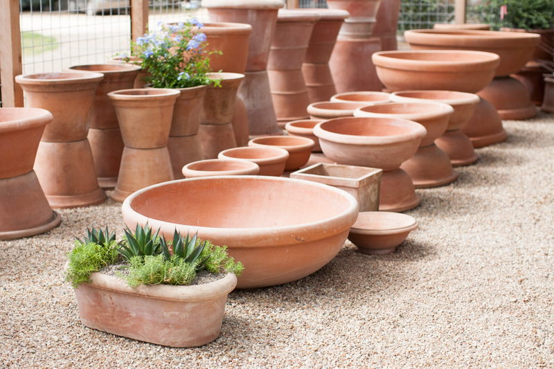 Frost Garden Pots Sprout austin the strength of the clay makes these pots frost proof and well insulated in heat as well workwithnaturefo