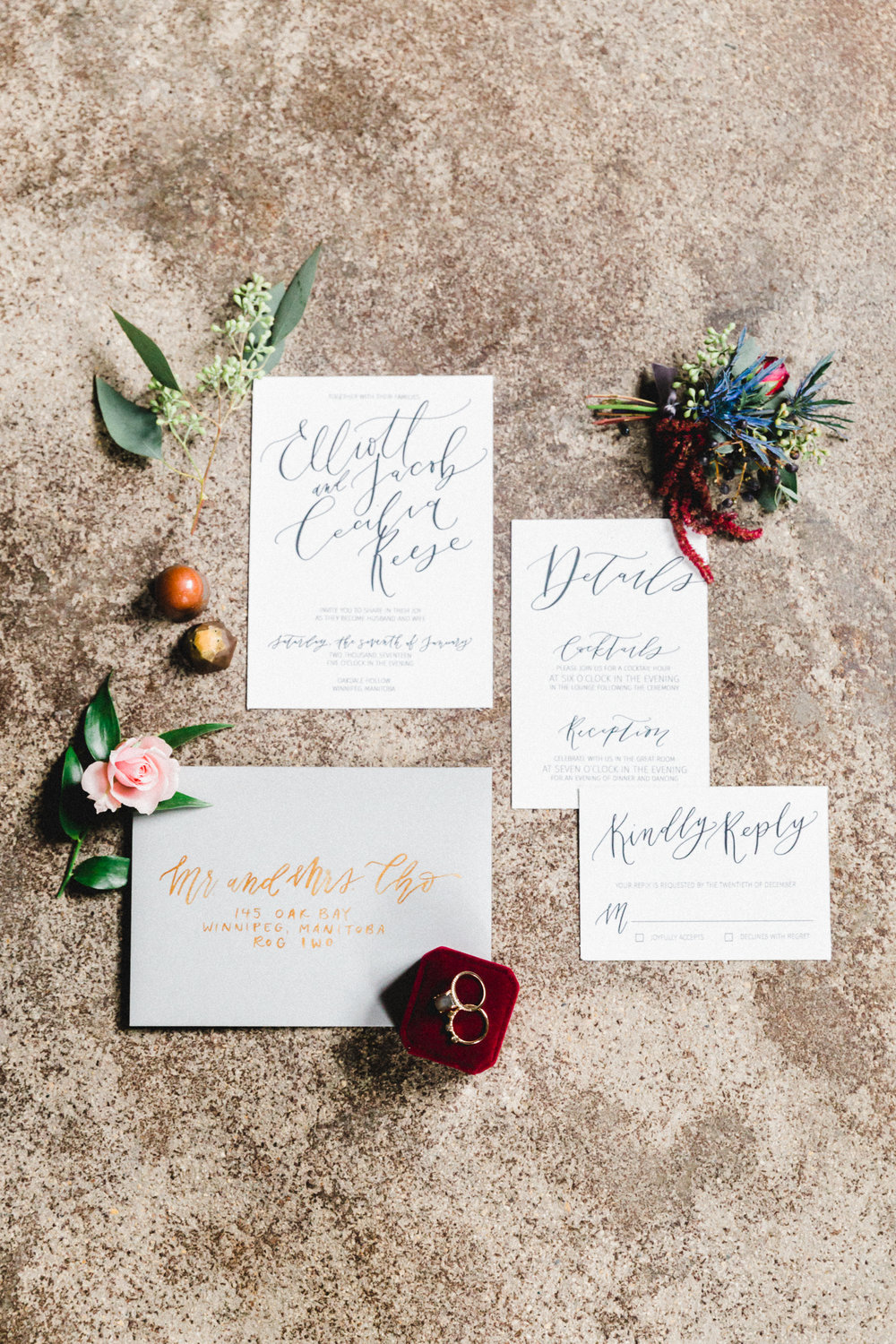 moody european styled shoot | jennifer bianca calligraphy | shot by charmaine mallari | click through to blog post to see full shoot and vendor list