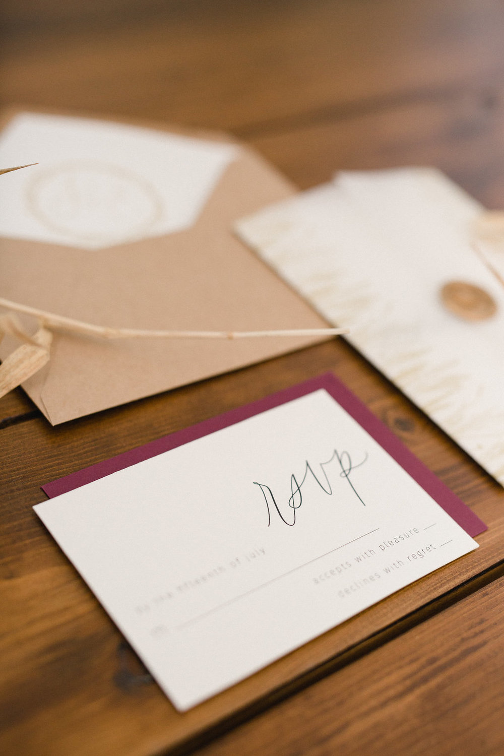 Prairie Dusk styled wedding shoot - outdoor wedding inspiration - stationery by Jennifer Bianca Calligraphy (jenniferbianca.com)
